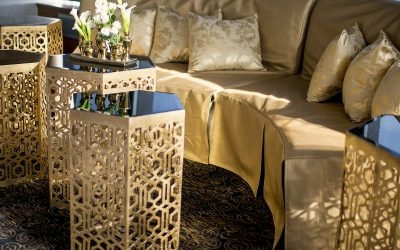 Rental of the Week | Golden Nested Tables