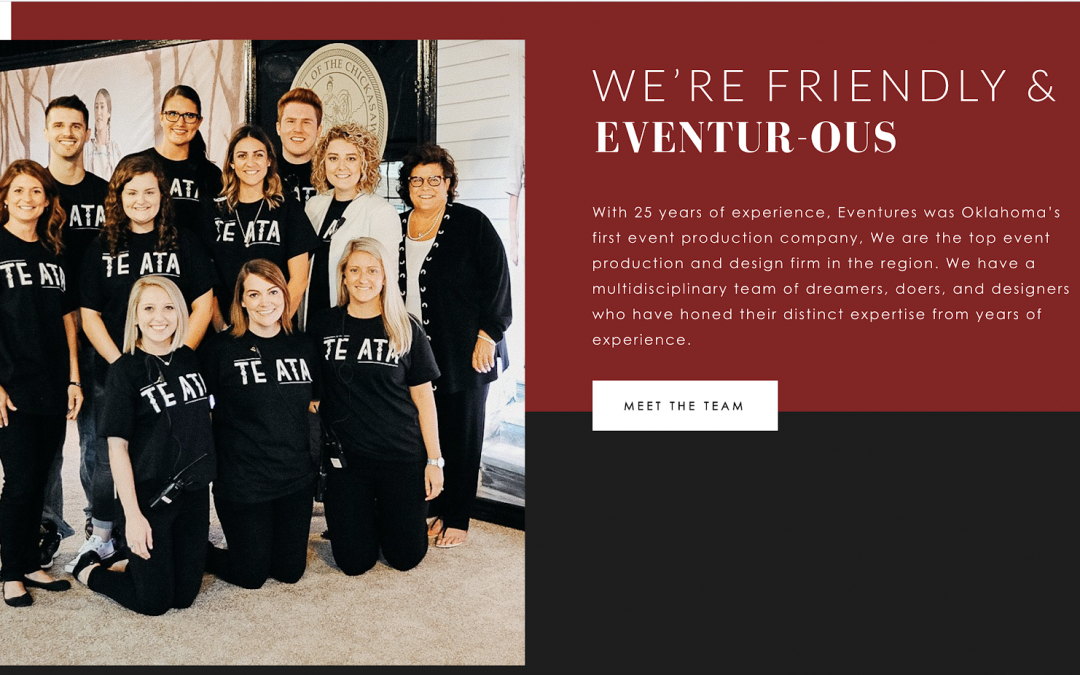Eventure's New Website!