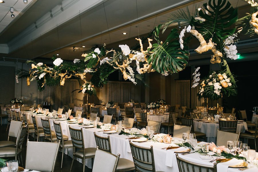 Victoria and Carter's Modern Wedding