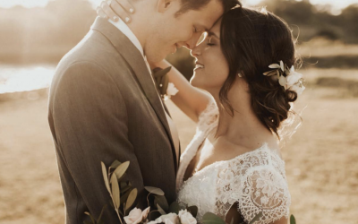 Heidi and Robert's Wedding Featured in Brides of Oklahoma