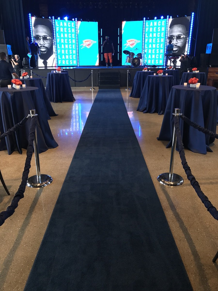 Paul George Welcome Party